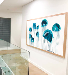 Jelly fish Pod Canvas Artwork