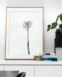 Signature Ink Palm | made to order with artist Libby Watkins