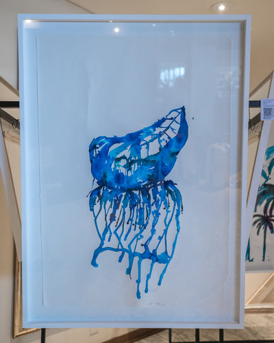 Blue bottle - Xtr Large Framed