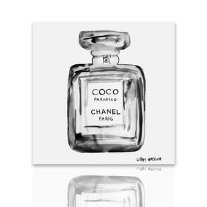 Chanel Coco Paradiso Ink Palm Print