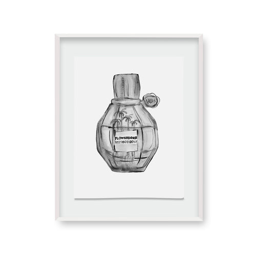 Signature Flowerbomb Ink Palm | made to order with artist Libby Watkins