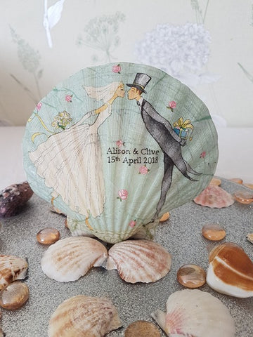 8f1b30ada367 With over 200 different decoupage shells to choose from and I will always  take custom requests, these giant scallop shells can be used in anyway.
