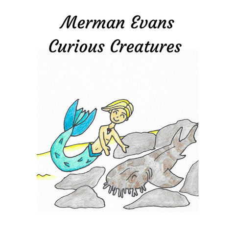 Pre-Order Mini Mers Underwater Educational Book 4: Merman Evans Curious Creatures.