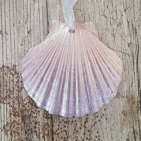 Rose Gold Scallop Shell