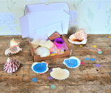 Scallop Shell Candles Craft Box