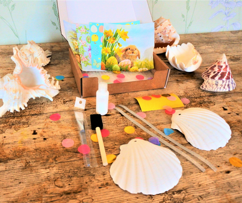 Scallop Shell Craft Box EASTER