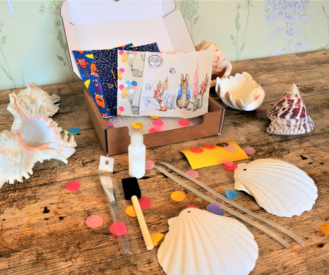 Scallop Shell Craft Box KIDS