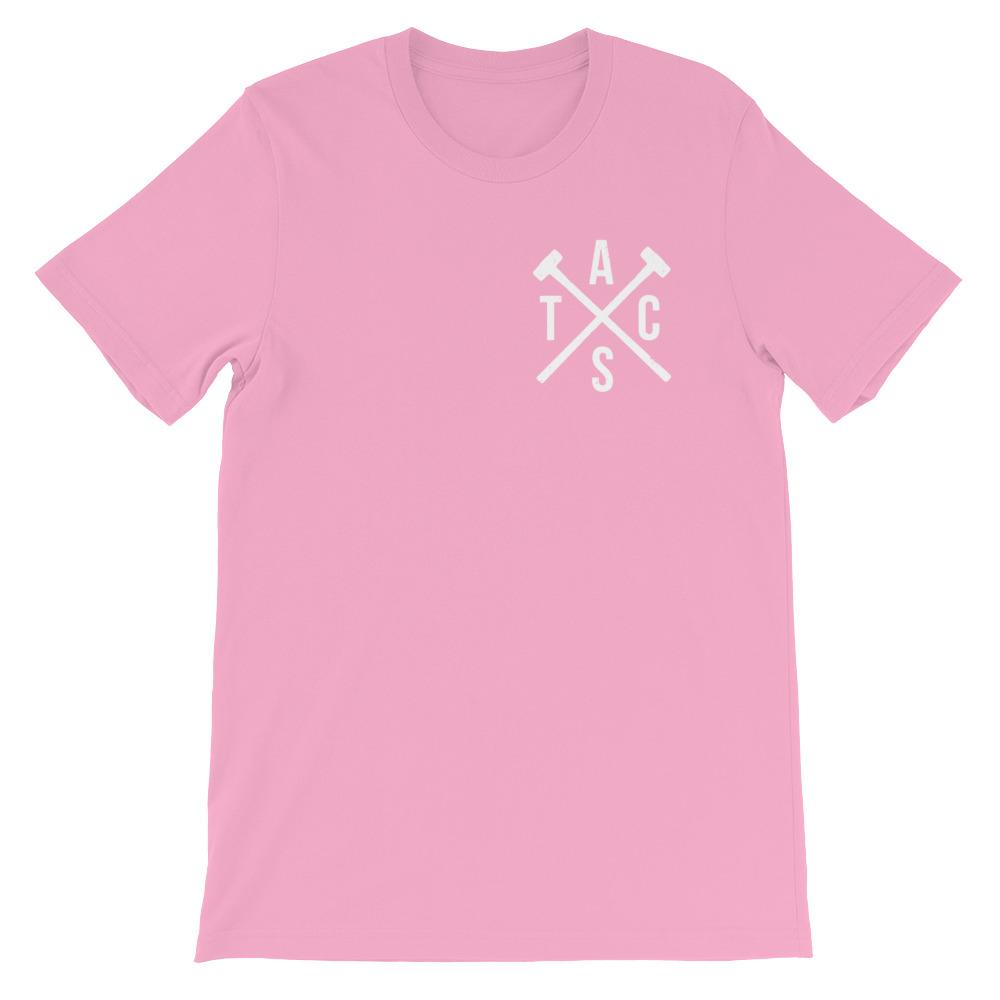 Classic Heavy Hitters Logo T-Shirt (Pink)