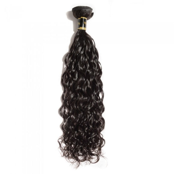 10-30 100% Virgin Brazilian Human hair, Weave Natural wavy Colour 1B - Roseandjoy