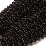 10-30 INCHES 100% RAW VIRGIN PERUVIAN HUMAN HAIR KINKY CURLY WEAVE 1B NATURAL BLACK - Roseandjoy