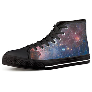 Light Year - Black High Top Canvas Shoes - Roseandjoy