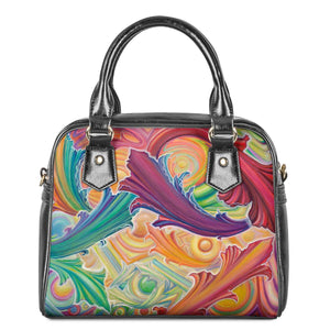 Rainbow Chariot by Joness Jones - Shoulder Handbags - Roseandjoy