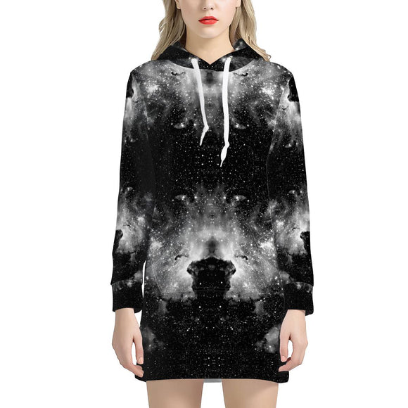 ET Blackout - Women's Hoodie Dress - Roseandjoy