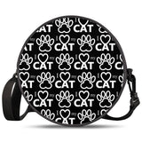 Cat Paw - Round Satchel Bags - Roseandjoy