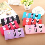 Cat Pattern Wallet - Roseandjoy