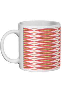 Tomato print Ceramic Mug 11oz (295 ML)