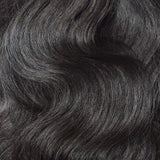 16 to 26 Inch #1B Natural Black 10 pieces Body Wave Clip In Human Hair Extensions - Roseandjoy