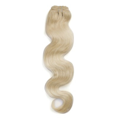 Body Wave Colored Remy Hair #60 White Blonde - Roseandjoy