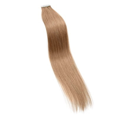 16-24 Inch Straight Tape In Remy Hair Extensions #27 Strawberry Blonde - Roseandjoy