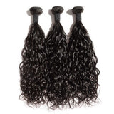 10-30 Inch Natural Wavy Virgin Indian Hair #1B Natural Black - Roseandjoy