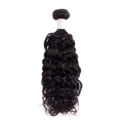 10-30 Inch Italian Curly Virgin Peruvian Hair #1B Natural Black - Roseandjoy