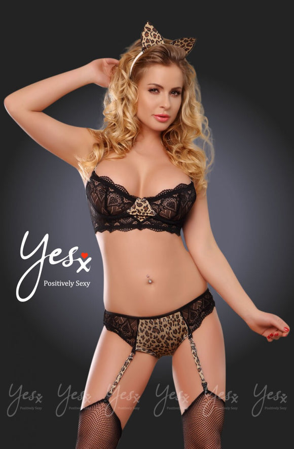 5 piece lingerie set - Roseandjoy