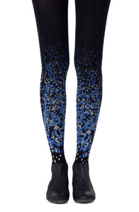 Paint it blue tights - Roseandjoy