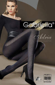 Gabriella 'Adria' black Lycra tights - Roseandjoy