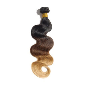 Body Wave Ombre Remy Hair #1B/4/27 - Roseandjoy