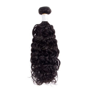 10-30 Inches Italian Curly Virgin Malaysian Hair colour 1B, Natural Black - Roseandjoy