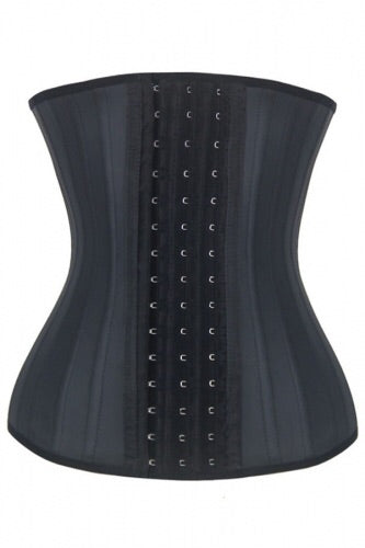 25 Bones Support Trendy Plus Latex Waist Trainer - Roseandjoy