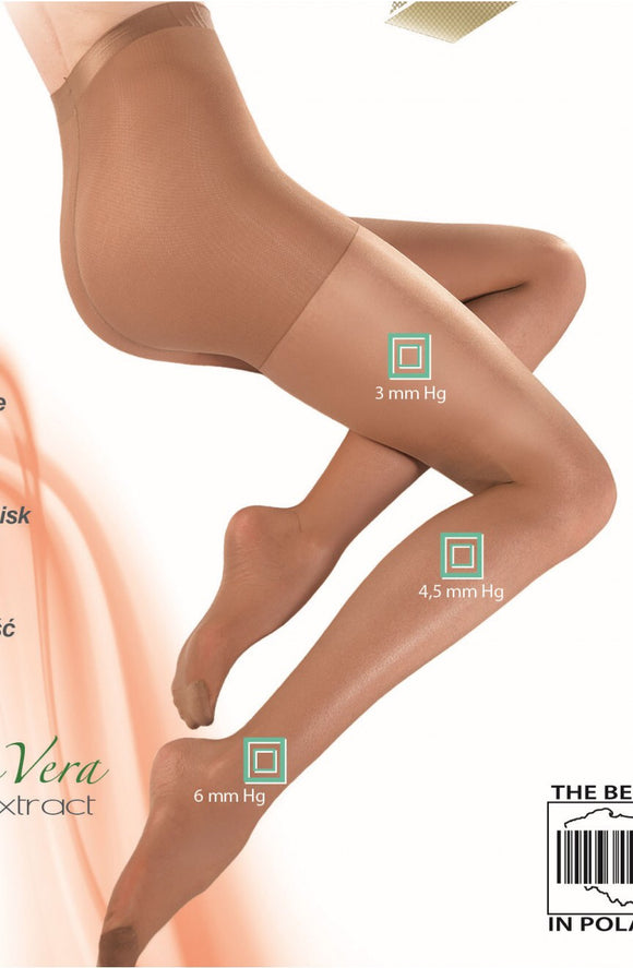 Gabriella 'Medical' 40 denier skin relaxing tights - Roseandjoy