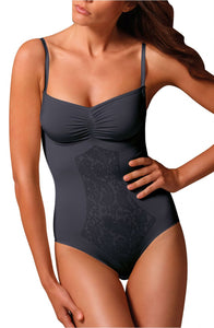 Fine straps black body shaper - Roseandjoy