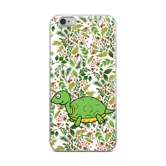 Green tortoise iPhone Case - Roseandjoy