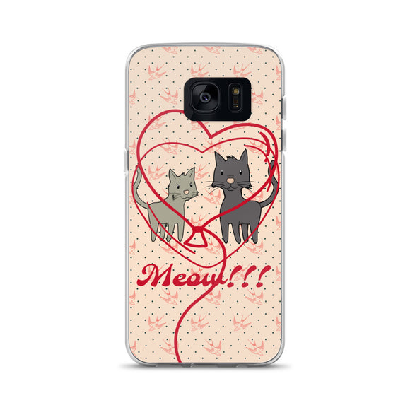 'CAT LOVE' Samsung Case - Roseandjoy