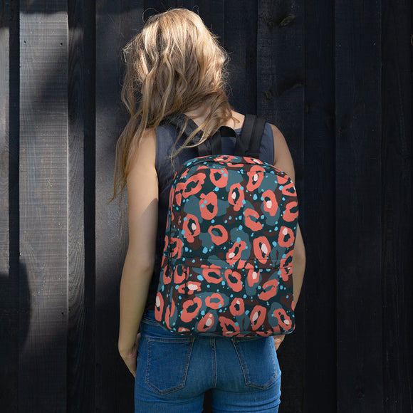 Leopard print Backpack - Roseandjoy