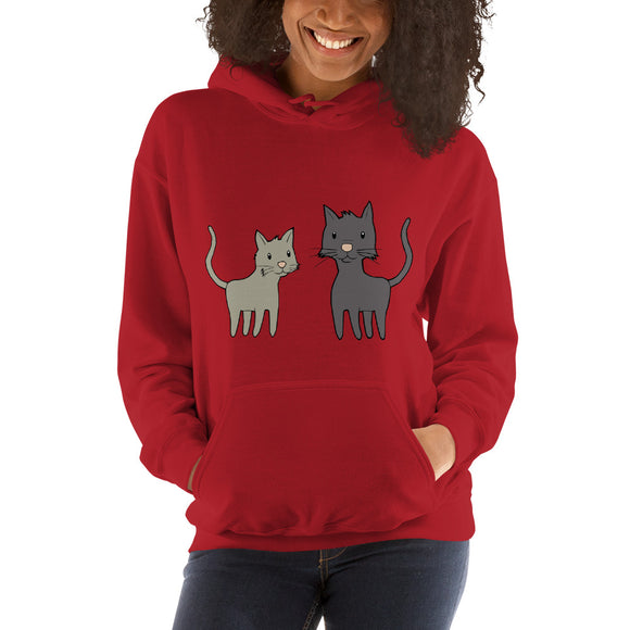 Hooded Cat Sweatshirt - Roseandjoy