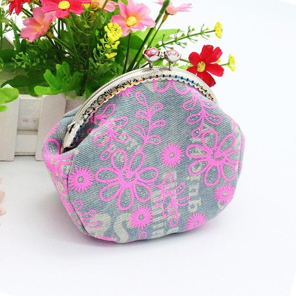 Retro Vintage Flower purse. - Roseandjoy
