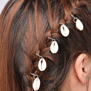 5 Pieces of shells hair accessories. - Roseandjoy