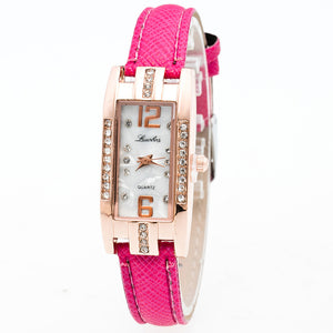 Fashion Women's Pointer Quartz Wrist Watch - Roseandjoy