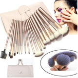 18 Pieces Premium Make-up Brush Set - Roseandjoy