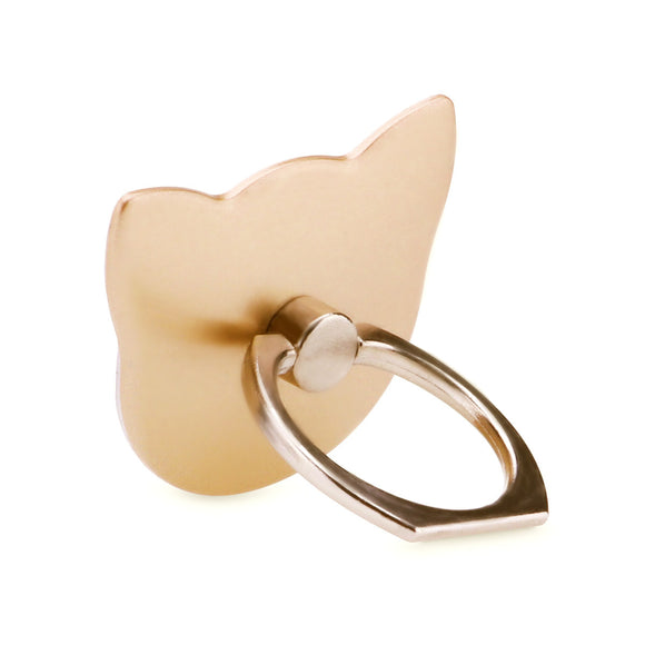 Universal Cat Ring Holder, Finger Grip Phone and tablet Mount, 180 Degrees rotation Desk Stand
