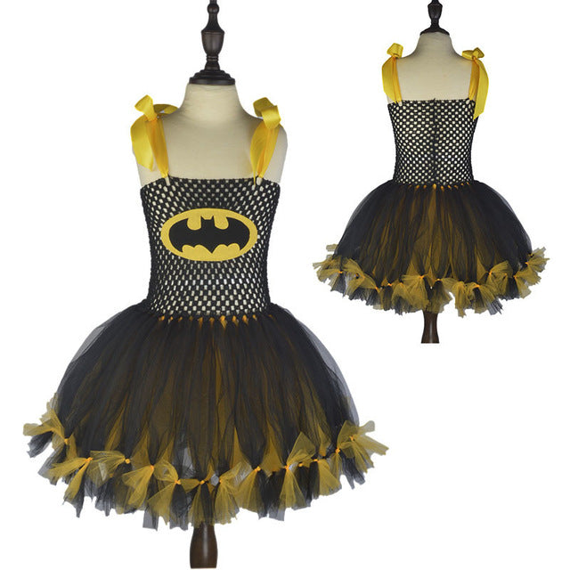 Girls - Superhero Kids Girl Batman Dresses for Christmas Children ...