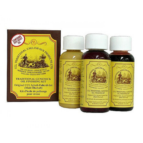 CCL TRADITIONAL GUNSTOCK OIL FINISHING KIT -  - Mansfield Hunting & Fishing - Products to prepare for Corona Virus