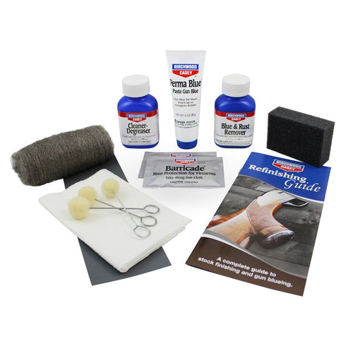 BIRCHWOOD CASEY PERMA BLUE PASTE GUN BLUE KIT -  - Mansfield Hunting & Fishing - Products to prepare for Corona Virus