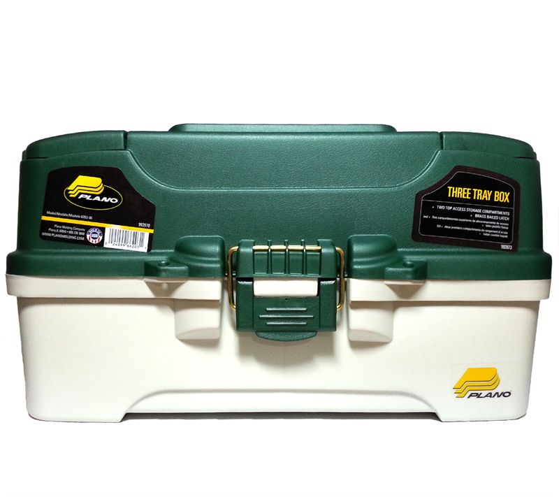 PLANO 6203 TACKLE BOX 3 TRAY -  - Mansfield Hunting & Fishing - Products to prepare for Corona Virus