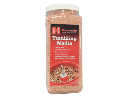 Hornady Tumbling Media 76 oz -  - Mansfield Hunting & Fishing - Products to prepare for Corona Virus