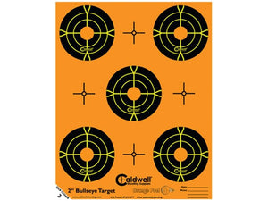 "CALDWELL ORANGE PEEL BULLSEYE 2"" -  - Mansfield Hunting & Fishing - Products to prepare for Corona Virus"