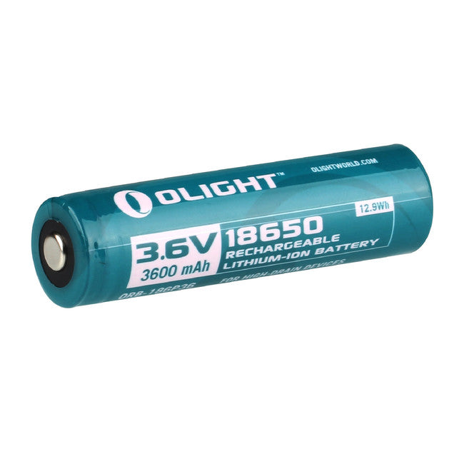 OLIGHT 18650 RECHARGEABLE BATTERY -  - Mansfield Hunting & Fishing - Products to prepare for Corona Virus