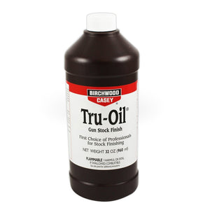 Birchwood Casey Tru-Oil stock finish 32oz bottle - FIREARM CLEANING EQUIP-OILS SOLVENTS AND CLEANERS - Mansfield Hunting & Fishing